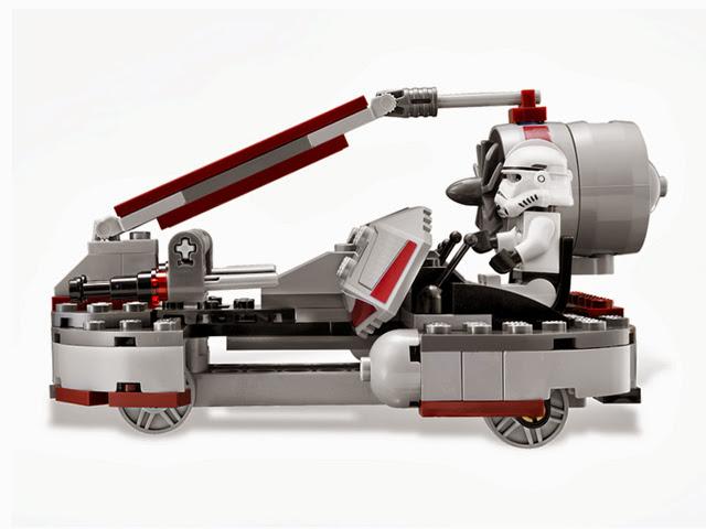 8091 レゴ スターウォーズ リパブリック・スワンプスピーダー