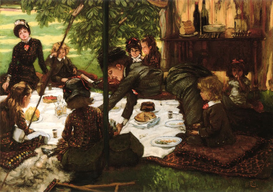 James Tissot - Children's Party, 1881-1882