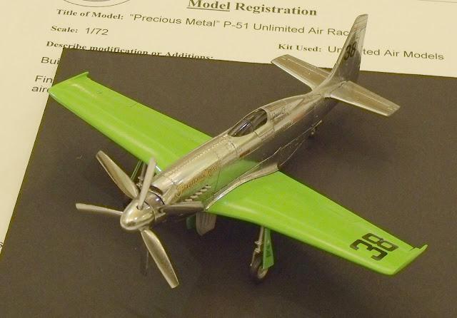 P-51 Precious Metal Reno racer