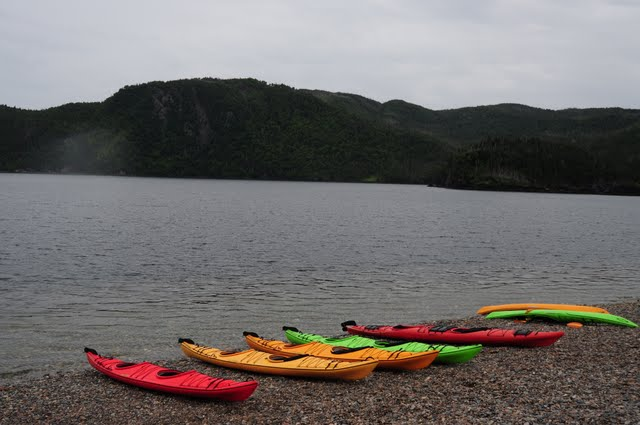 norris point, kayaking