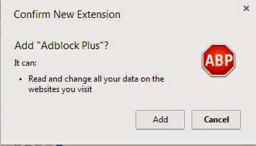 install adblock plus extension
