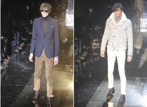 Golas Olímpica e em V – Gucci Semana de Moda Milão Outono Inverno 2011