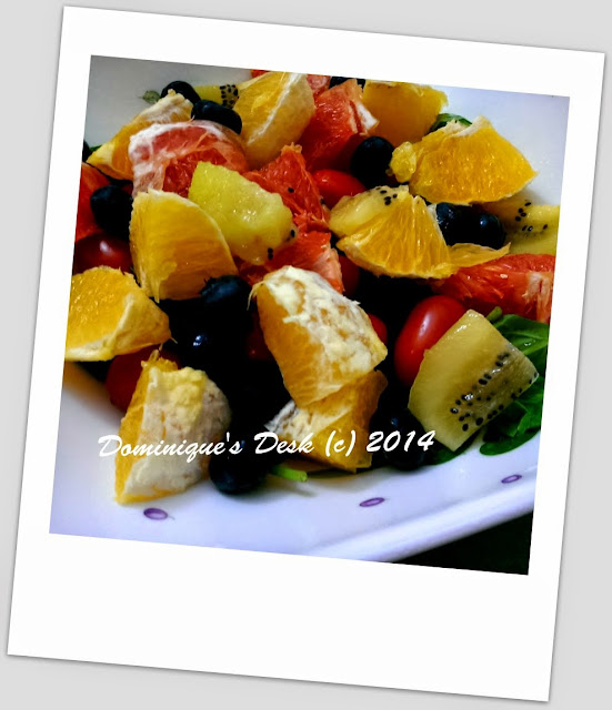 Orange Salad that I made