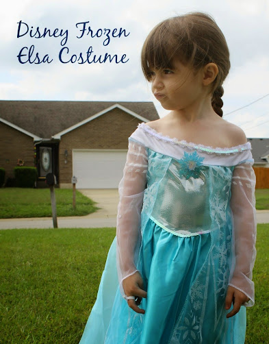 Disney Frozen Elsa Costume Ideas & a DIY Elsa Cape Tutorial