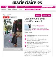 Escuestiondestilo en Marie Claire