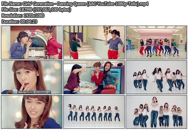 Download [MV] Girls' Generation – Dancing Queen (YouTube HD