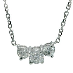 Three-Stone Diamond Pendant