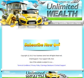 Sales Page | Unlimited Wealth