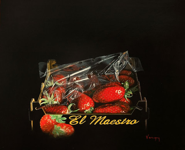 El maestro,obra del pintor Pedro Vergara