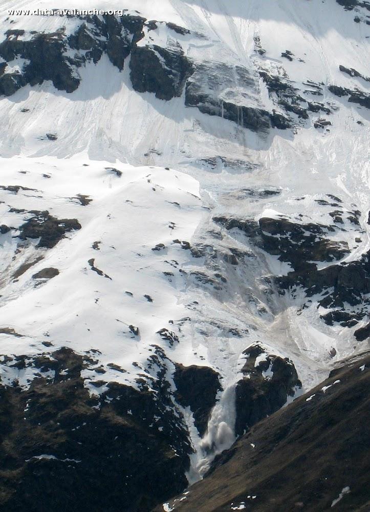 Avalanche Haute Maurienne, secteur Pointe de Méan Martin, Pointe des Roches - Photo 1