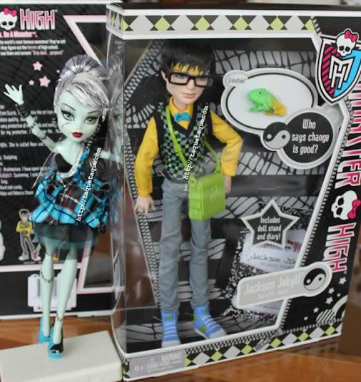 Jackson Jekyll y Crossfade, su mascota, ya forman parte de mi colección Monster High