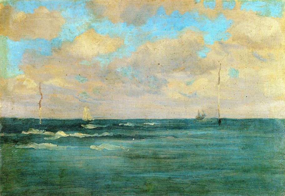 James Abbott Whistler - Bathing Posts
