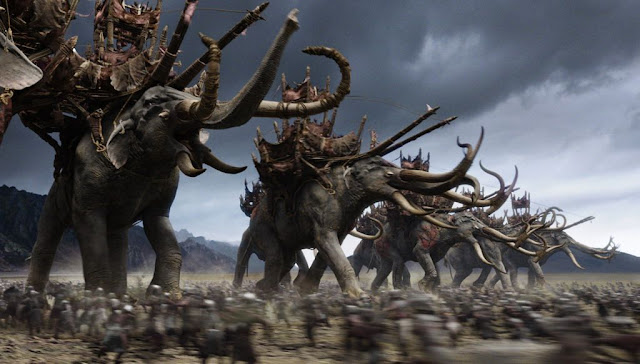 La carga de los olifantes
