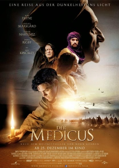 Poster Of English Movie The Physician (2013) Free Download Full New Hollywood Movie Watch Online At alldownloads4u.com