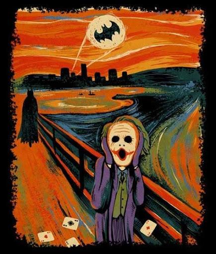 El grito de Munch, parodia