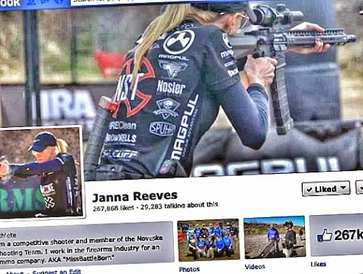 Janna Reeves is a new woman to the 3 Gun Pro Series Tour shooting for Noveske Team