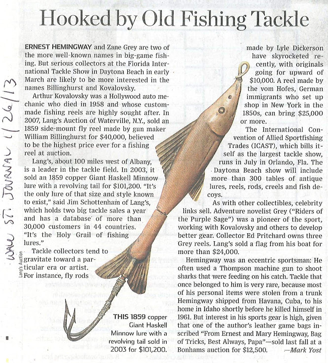 Hooked by Old Fishing Tackle