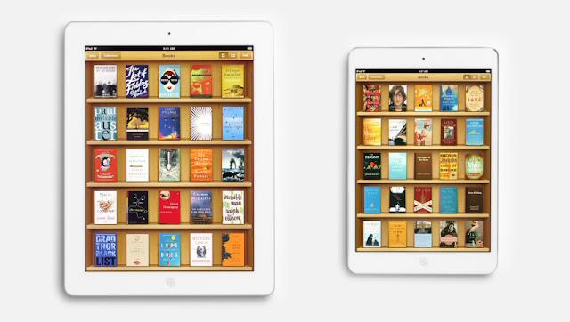 iPad mini TV Ads Books