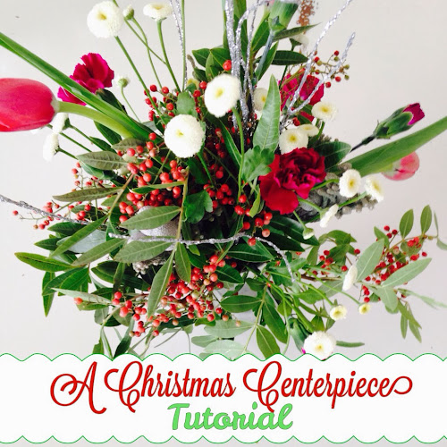 A Christmas centerpiece tutorial