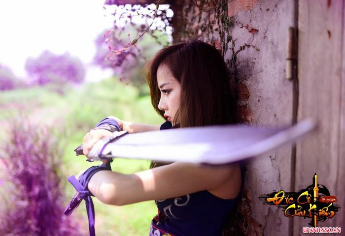 Bộ cosplay Độc Cô Cửu Kiếm đầy ngẫu hứng - Ảnh 5