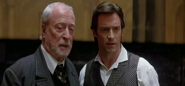 Screen Shot Of Hollywood Movie The Prestige (2006) In Hindi English Full Movie Free Download And Watch Online at Alldownloads4u.Com