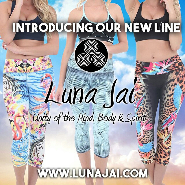 Luna Jai Athletic Apparel - handcrafted quality high fashion performance wear!