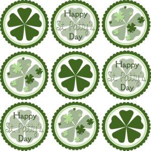 Kleinworthco.com Free Coaster St. Patrick's Day Printables