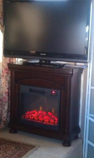 RV.Net Open Roads Forum: Electric fireplace Install