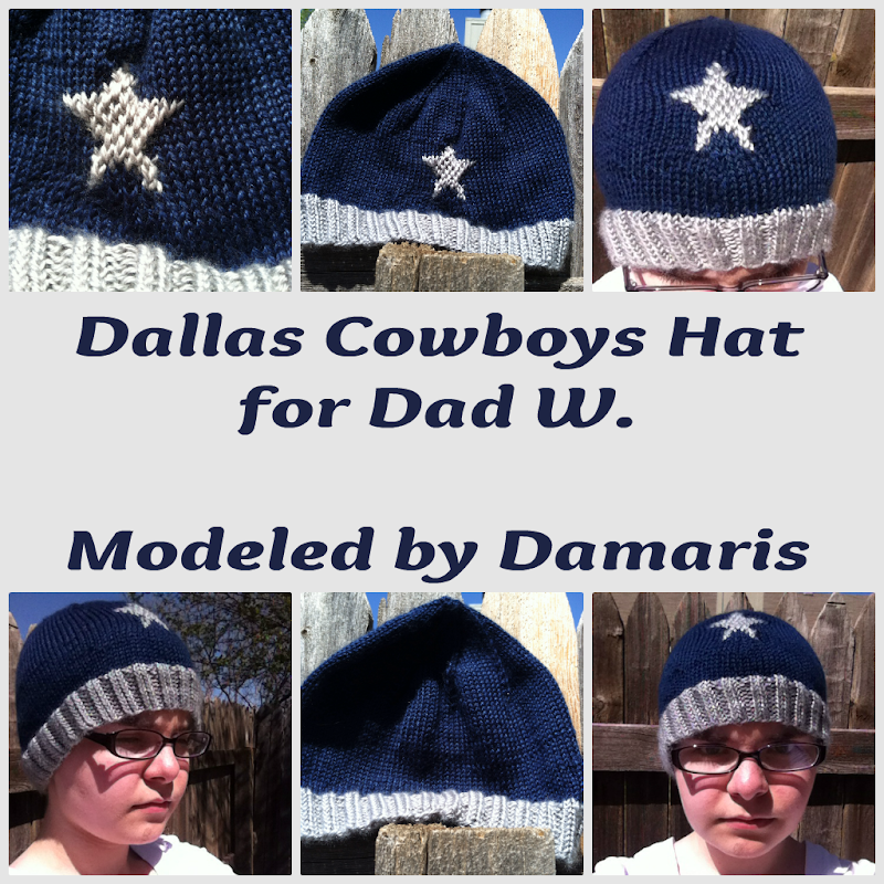Dallas Cowboys Knit Hat Pattern : I Am On My Way: The Post In Which I Check In On Create for April, May, June, ...