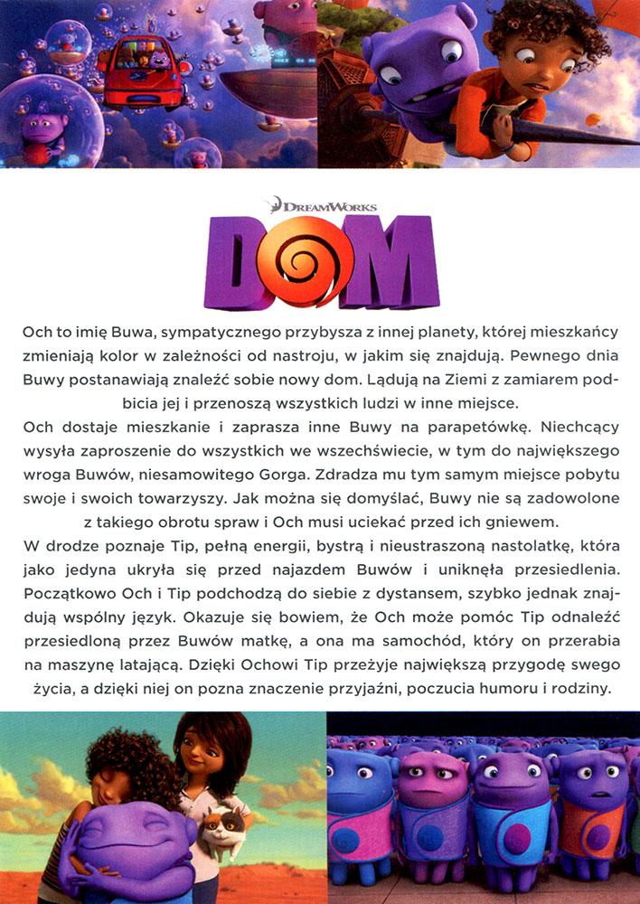 Ulotka filmu 'Dom (tył)'