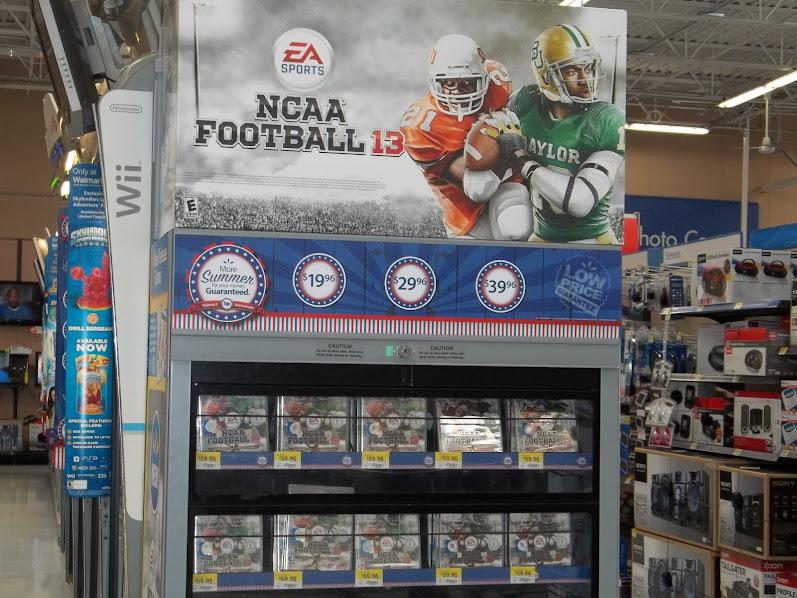 #NCAAFootball13 Walmart Release