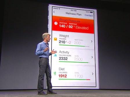 Apple giới thiệu về HealthKit