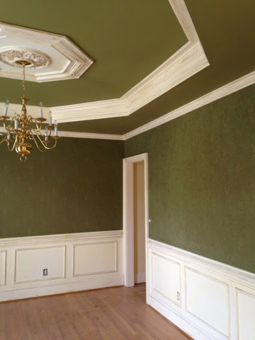 What color should I paint my dining room ceiling? | A Color ...