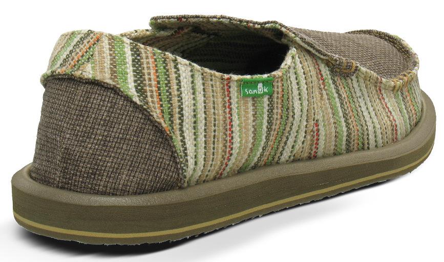 *Sanuk 左右不對稱立體:FUNK SHWAY懶人鞋! 5