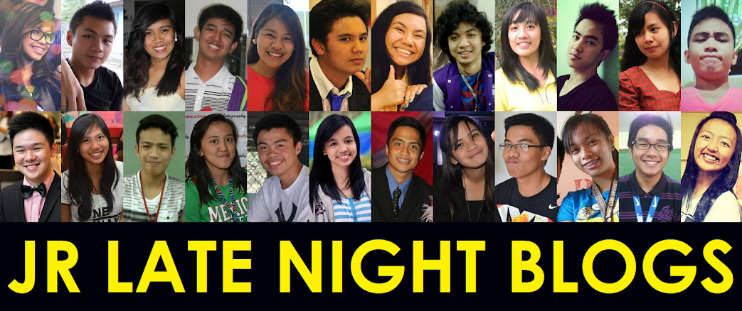 JR Late Night Blogs (2014 Blog Header)