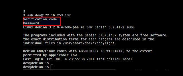 Cómo configurar la autenticación de dos pasos en SSH mediante Google Authenticator