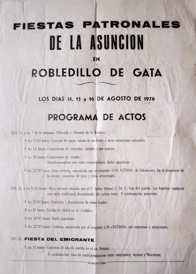 Fiestas Patronales de Robledillo de Gata