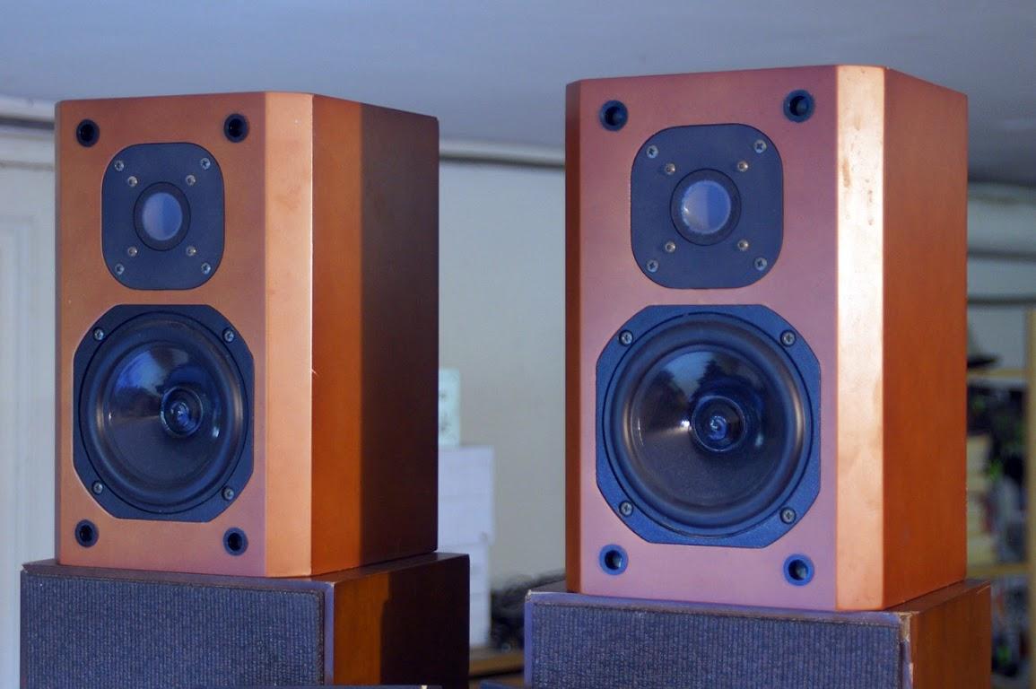 top pair speakers jmlab focal micron carat 4ohms 65watt input st etienne france ebay. Black Bedroom Furniture Sets. Home Design Ideas