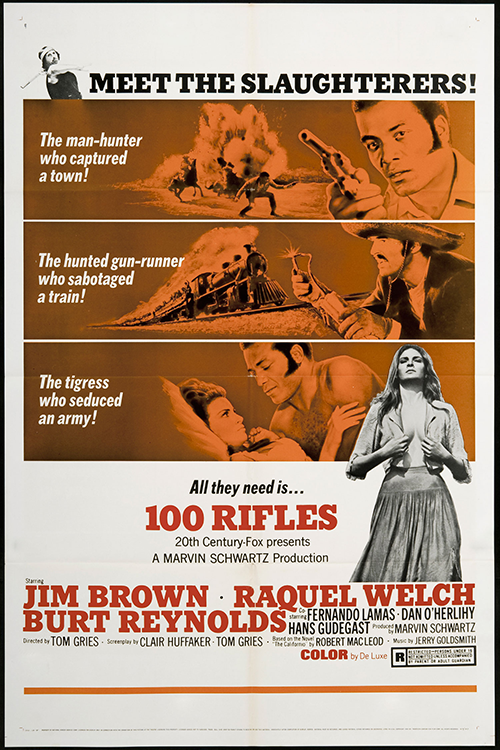 Hundred Rifles (1969)