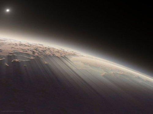 Morning on Mars