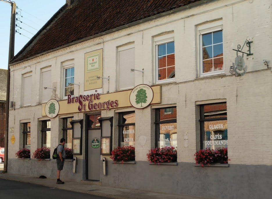 brasserie St-Georges in Eecke
