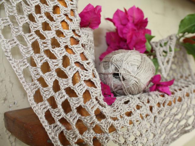 crochet linen