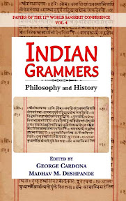 [Cardona/Deshpande: Indian grammars, 2012]