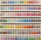 The new paint line. All the colors of the rainbow, plus more!
