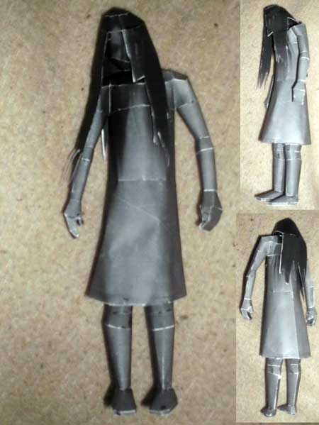 Grudge Ghost Papercraft