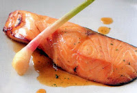 Japanese Fragrant Baked Salmon