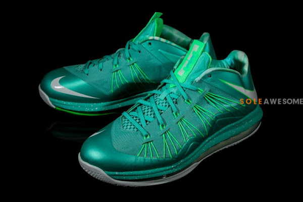 A Detailed Look at Nike LeBron X Teal Green 579765300