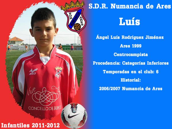 ADR Numancia de Ares. Infantís 2011-2012. LUIS.