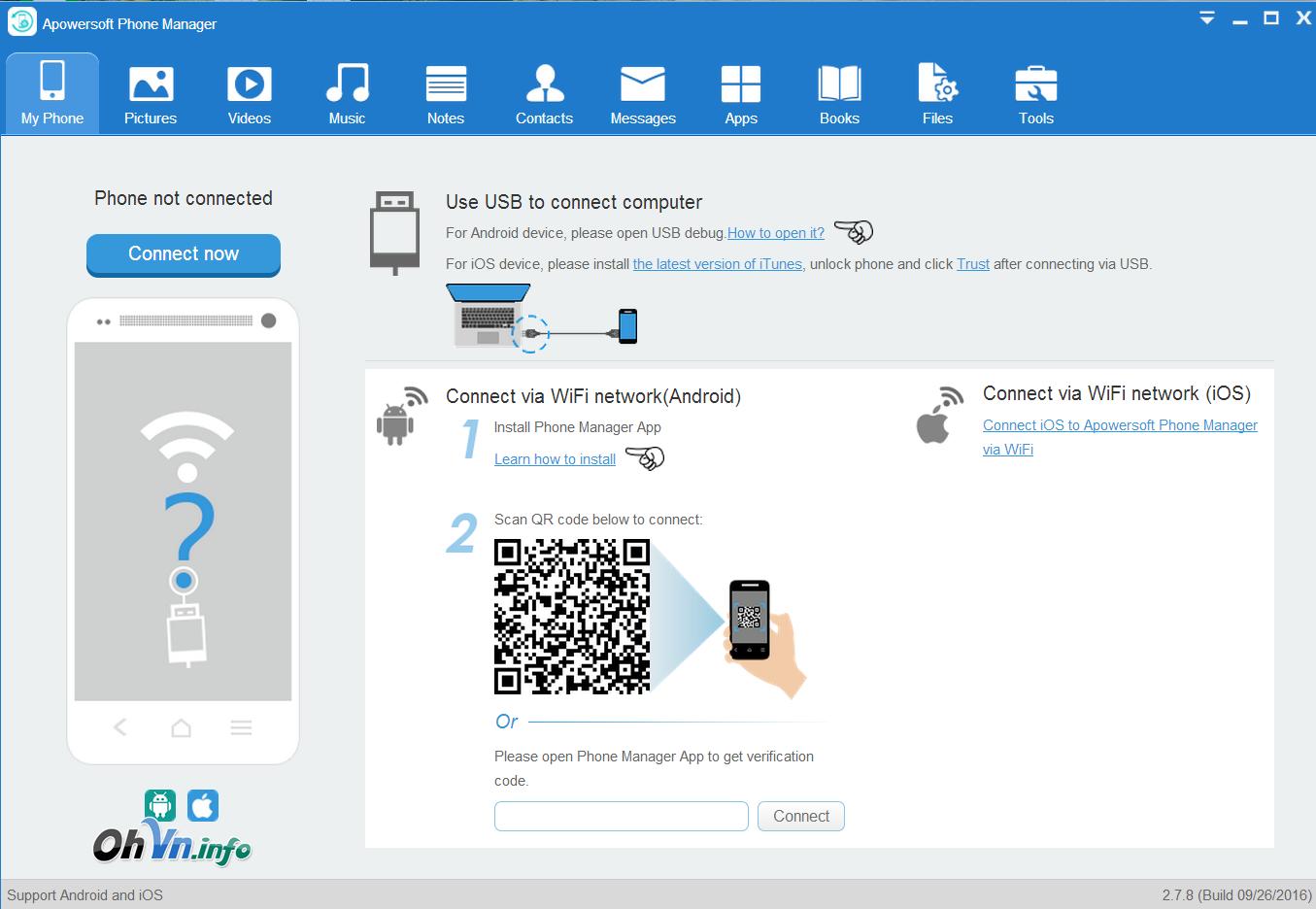 Apowersoft Phone Manager PRO 2.7.8 Full - Quản lý điện thoại thông minh