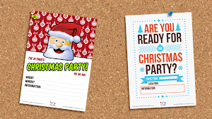 Christmas Party Posters - Poster giáng sinh